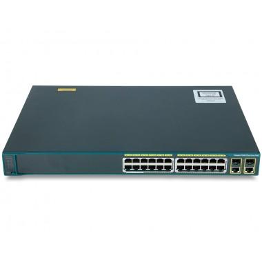 Коммутатор Cisco Catalyst WS-C2960+24LC-L (PoE-8)