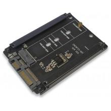 """Переходник для SSD диска M.2 SATA на 2,5"""""""