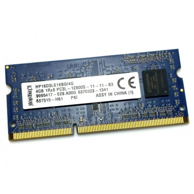 Модуль оперативной памяти 8Gb PC3L-12800S SODIMM